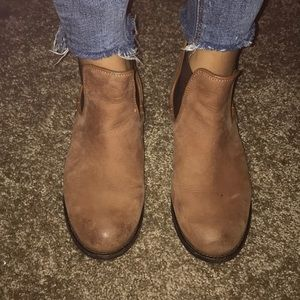 Steve Madden Leather Ankle Boots